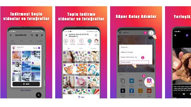Instagram'dan Telefona Nasıl Video Yüklenir?