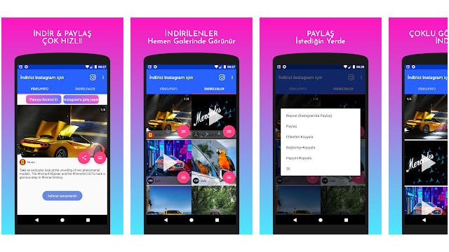 Instagram'dan Android Telefona Nasıl Video Yüklenir?